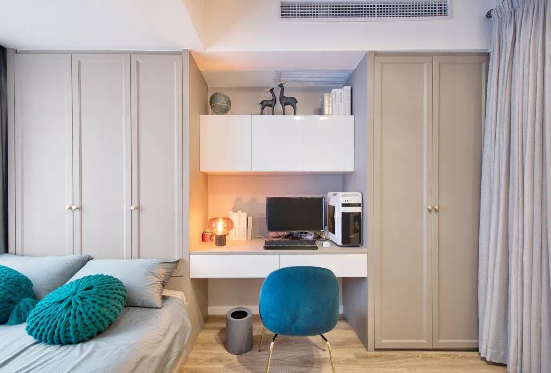 110m²舒适的现代风格,让家人舒适,让自己舒适 现代风格 装修 设计 第16张