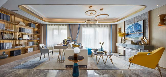 別墅裝修 如何根據色彩搭配確定裝修風格?