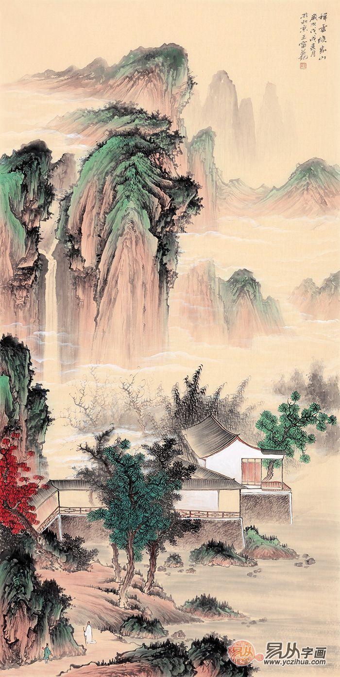 墙上挂画攻略,解读最适合挂客厅沙发背景墙的装饰画