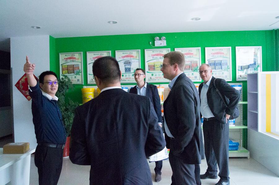 德国哈佛博克集团CEO一行四人赴北京生态家园集团总部交流访问