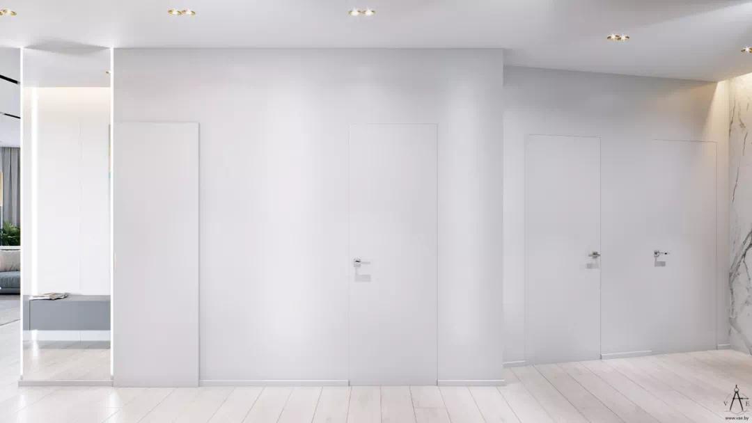 《【摩登3平台网】装修 | 120㎡简约+黄铜,轻奢的都市品味!》