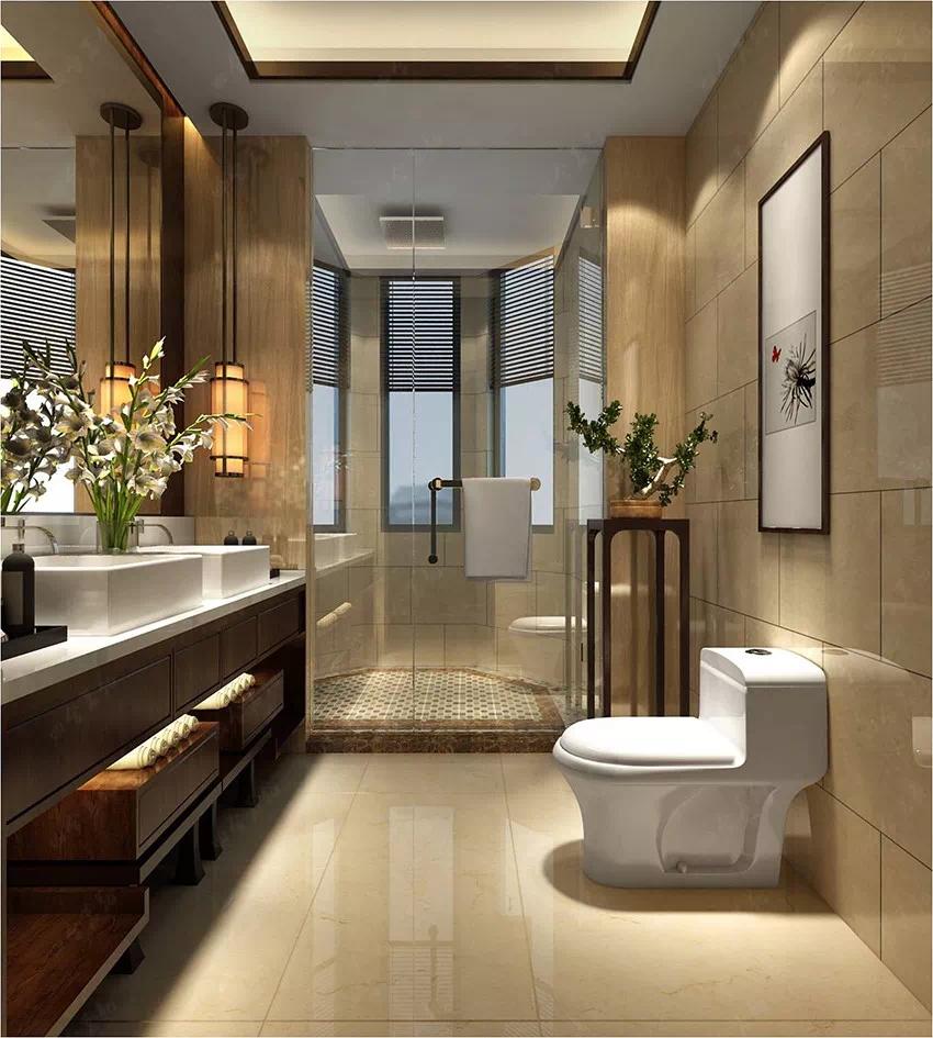 輕盈靈動 光彩奪目的中式設計宅邸