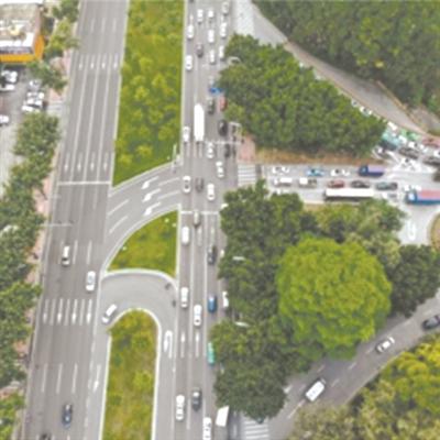 人車分離、向綠化帶借車道…廣州12擁堵點微改造換大通暢