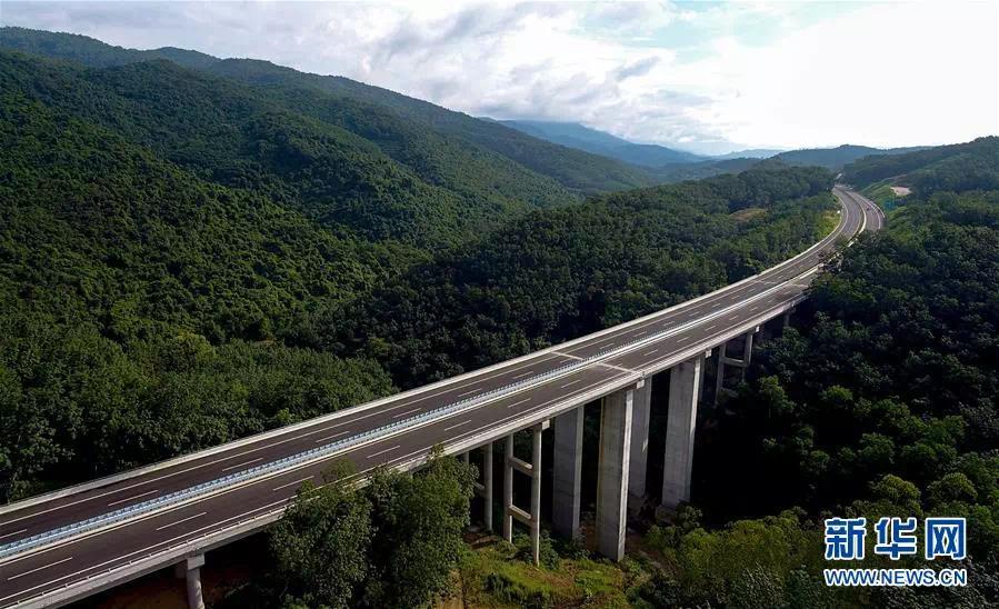 瓊樂高速即將開通 下月起可從這15處互通上高速啦