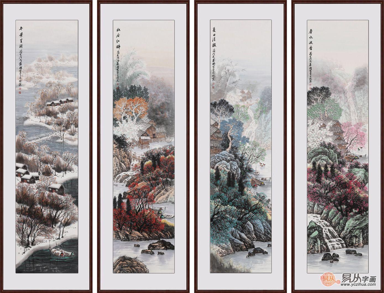 为什么山水装饰画如此受欢迎?易从带您浅析山水画的三大特点