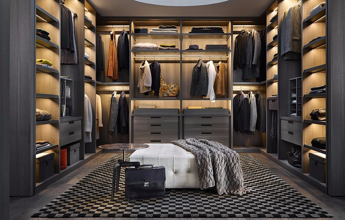 Poliform家具意大利高端品牌,简约品牌衣柜