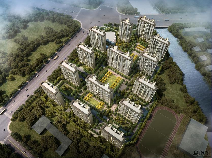 路劲甪直大道南侧地块规划批前公示 规划14栋高层住宅产品