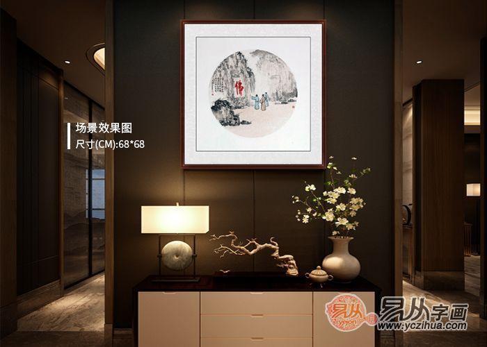 中式風格家居掛畫,驚艷到你的不止是一進門的古韻典雅