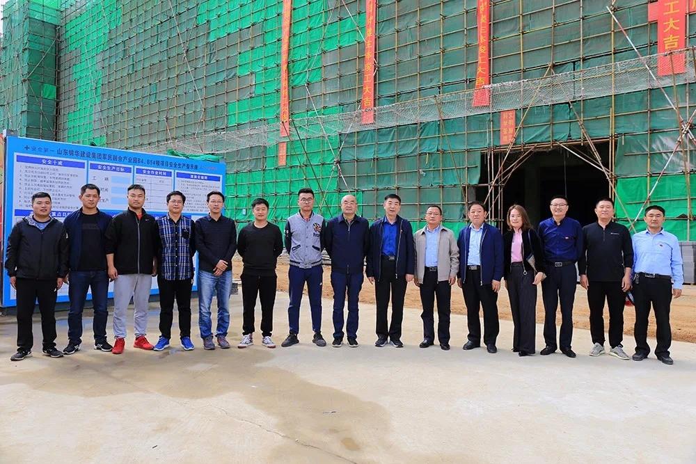 錦華集團4萬平米框架建筑 99天竣工
