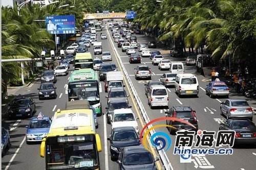 海南:执行最严机动车排放限值 合理控制岛外车辆进入海南