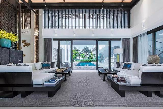 310平米東南亞裝修風格,讓品味從質感中自然流淌