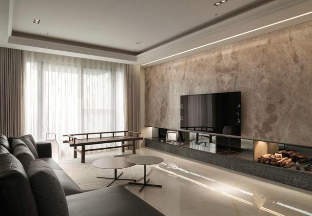 130平現代家居設計 東方風的純淨自然與古典風的優雅氣質完美