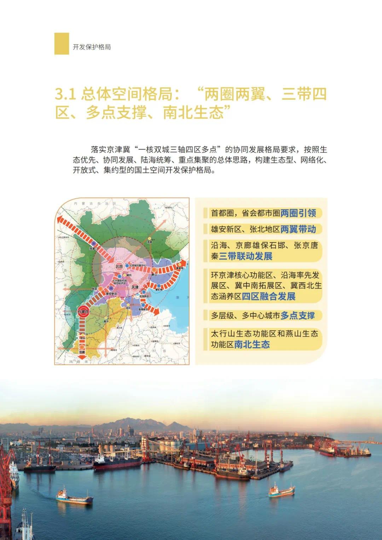强化石家庄高端引领!河北省国土空间规划公开征求意见(图15)