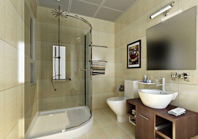芜湖装修:小卫生间装不了淋浴房怎么办?