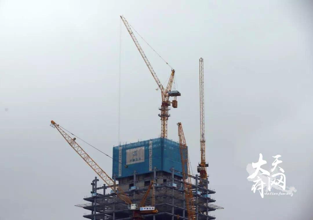 283.1米!天府新区在建第一高楼了解一下