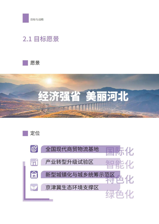强化石家庄高端引领!河北省国土空间规划公开征求意见(图11)