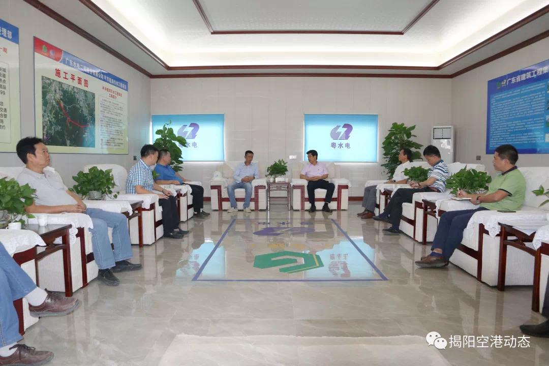 方如隆到榕江新城调研重要交通基础设施项目建设情况