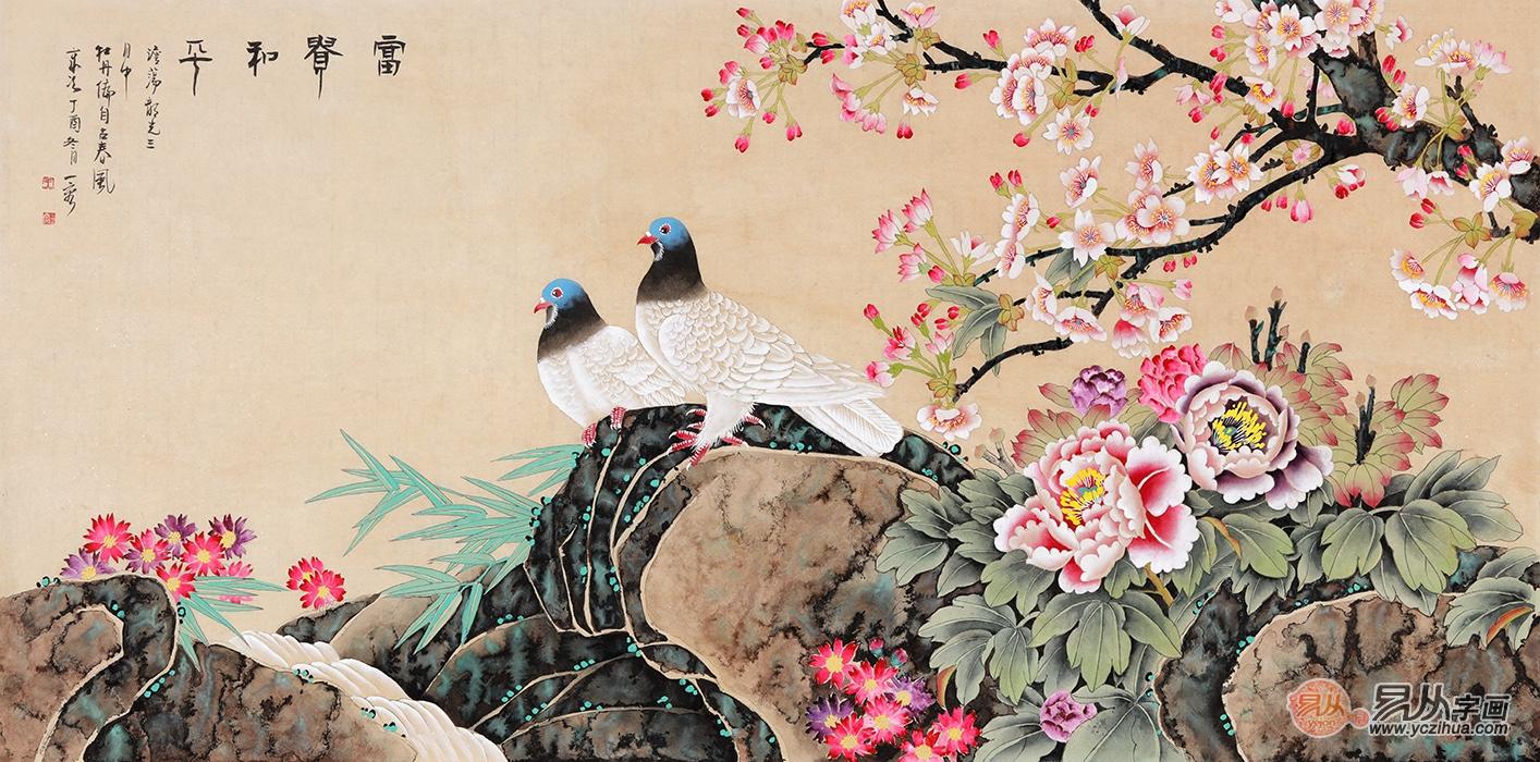 精致独到的卧室挂画欣赏,当代画家手绘之作