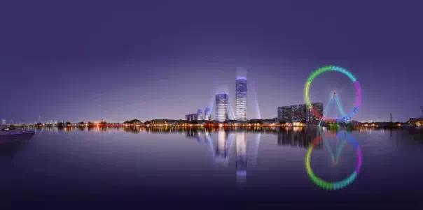 德州新地标奥特莱斯120米摩天轮项目正式启动!