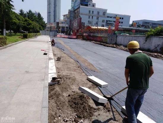 荆州便河附近这条路已开工建设,以后出行更方便
