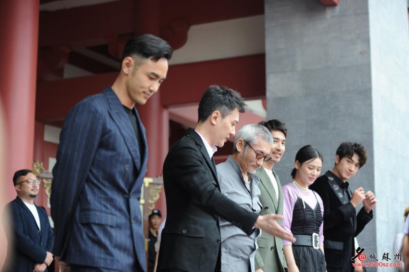 苏州华谊兄弟电影世界开园盛典举行 徐克、阮经天等现身