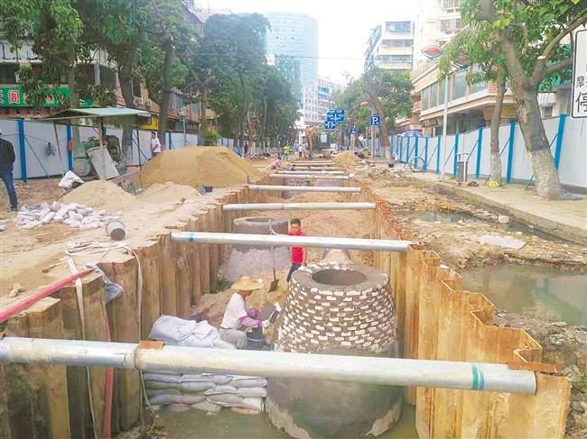 公园路(中山路—外马路)今起全封闭施工  2019年春节前可
