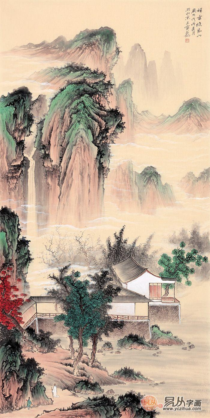 新中式客厅装饰画,美到骨子里的中国风!