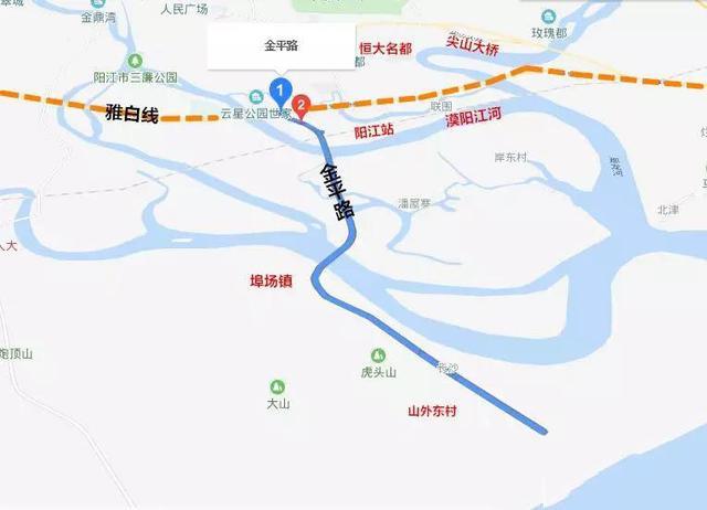 云居四海:投资82亿元!阳江交通即将全面大爆发