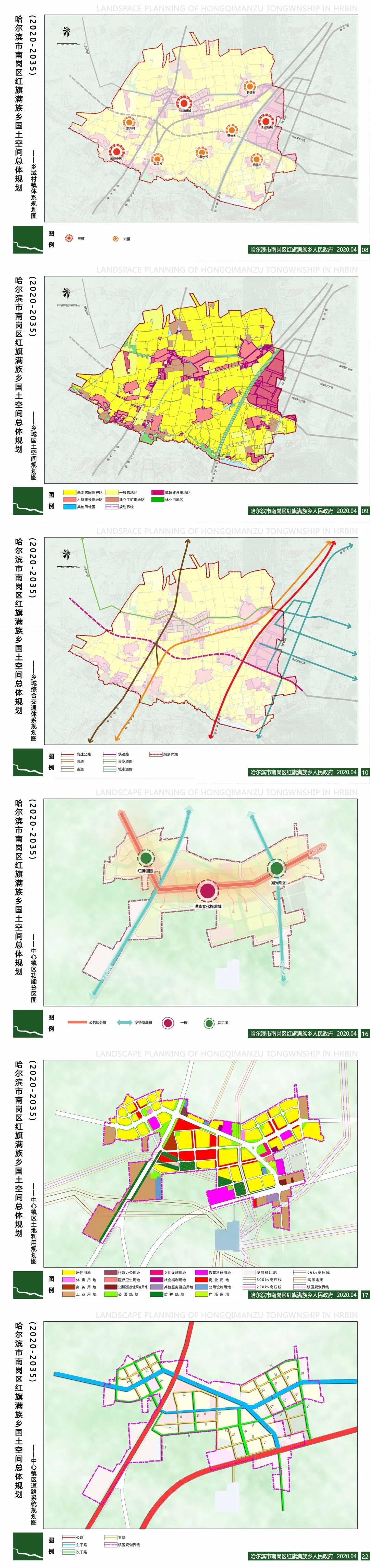 南岗红旗满族乡供应5宗地块 含住宅、幼儿园和城市道路哈尔滨插图