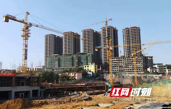 双清区多措并举加速步步高邵阳新天地项目建设