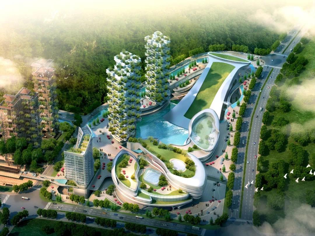 亨特碧桂园·云涧溪山丨聆听中国新地标建筑里的城市心声