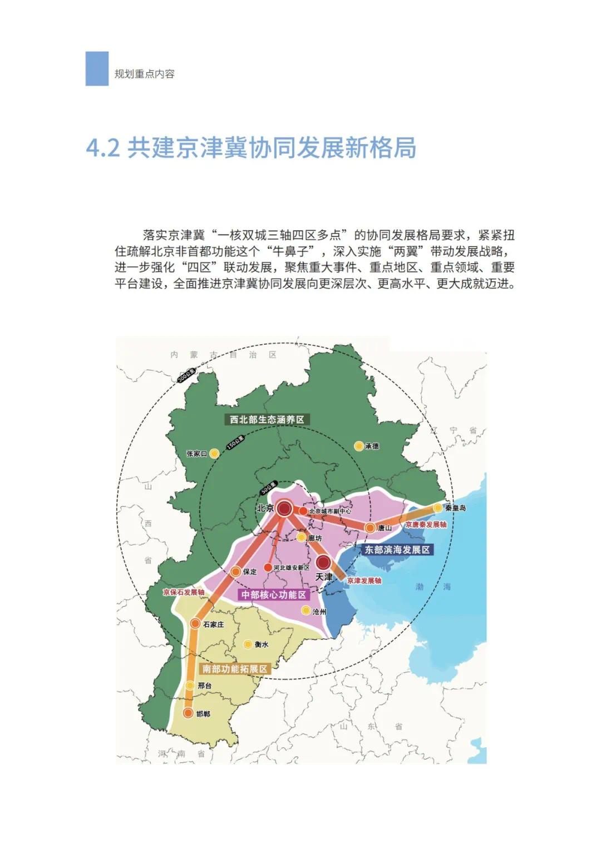 强化石家庄高端引领!河北省国土空间规划公开征求意见(图22)