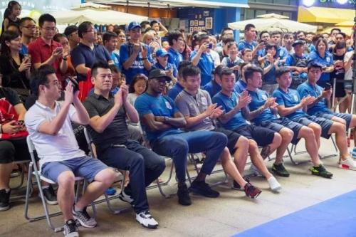"""三菱重工空调""""和上海申花球员聊世界杯""""瞩目申城"""