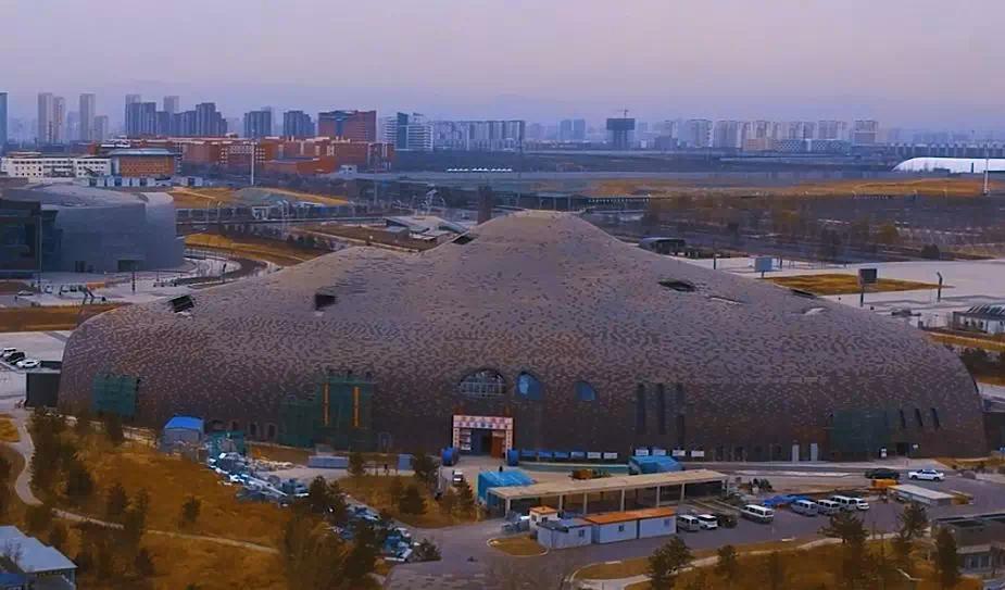 實拍五大場館建設進程,預計2019年全面投入使用!