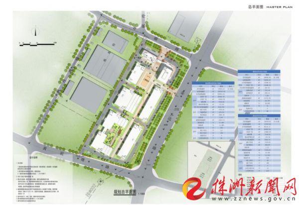 金城华亿电商服饰产业园项目开工 预计2020年建成