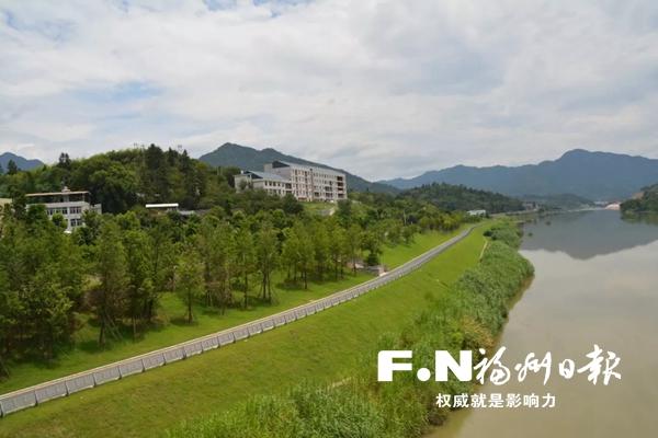 永泰大樟溪休闲自行车道示范段贯通