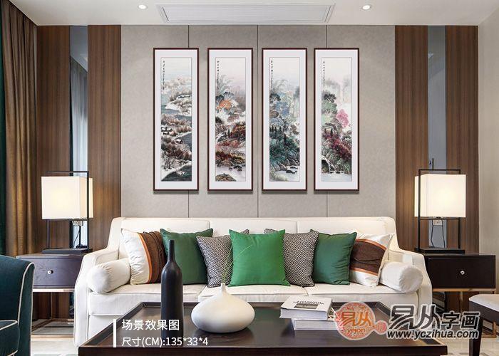 家居装饰画妙用,打造清新完美家居空间