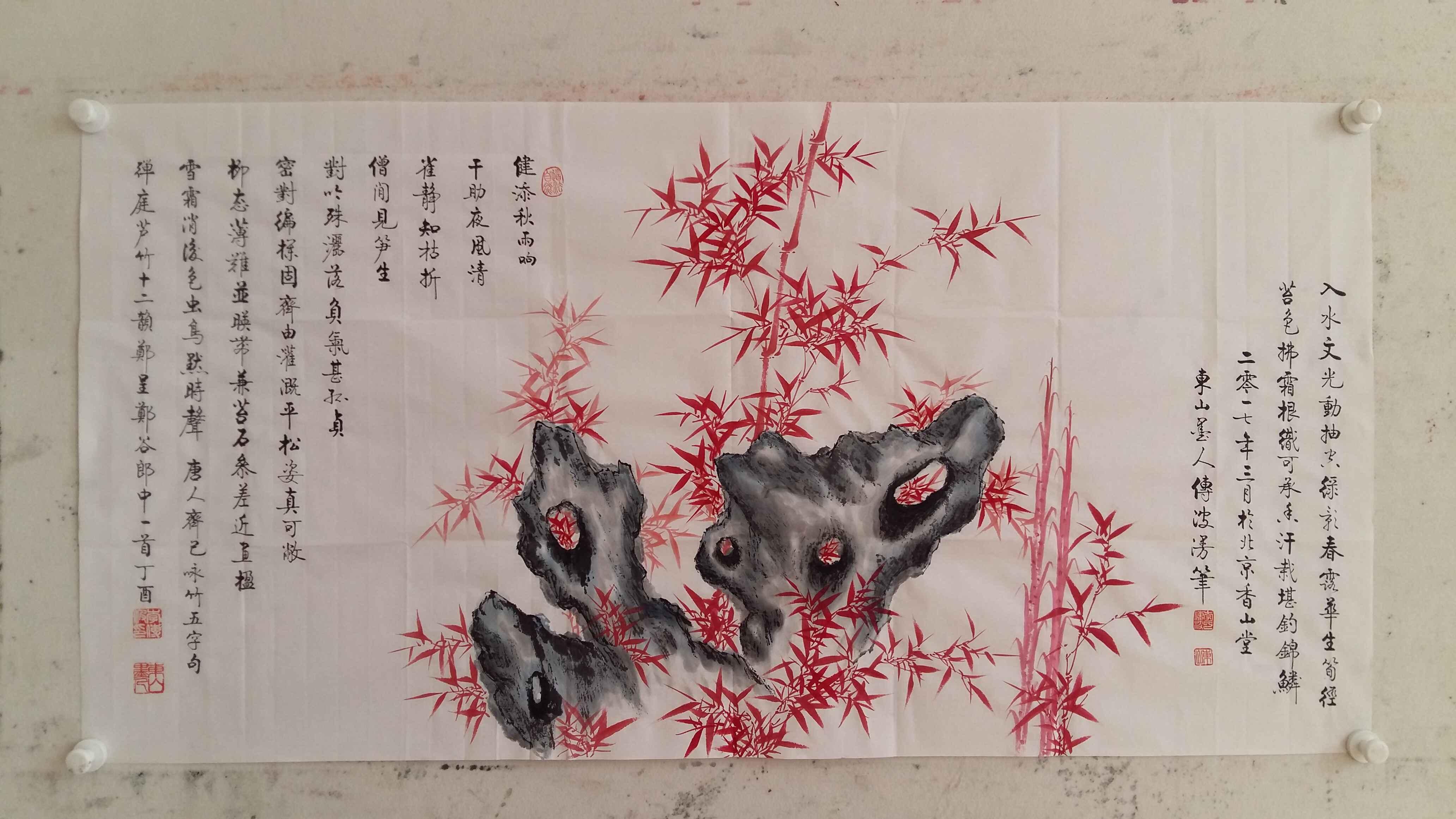 中式客厅挂什么画好 书法营造古色古香氛围