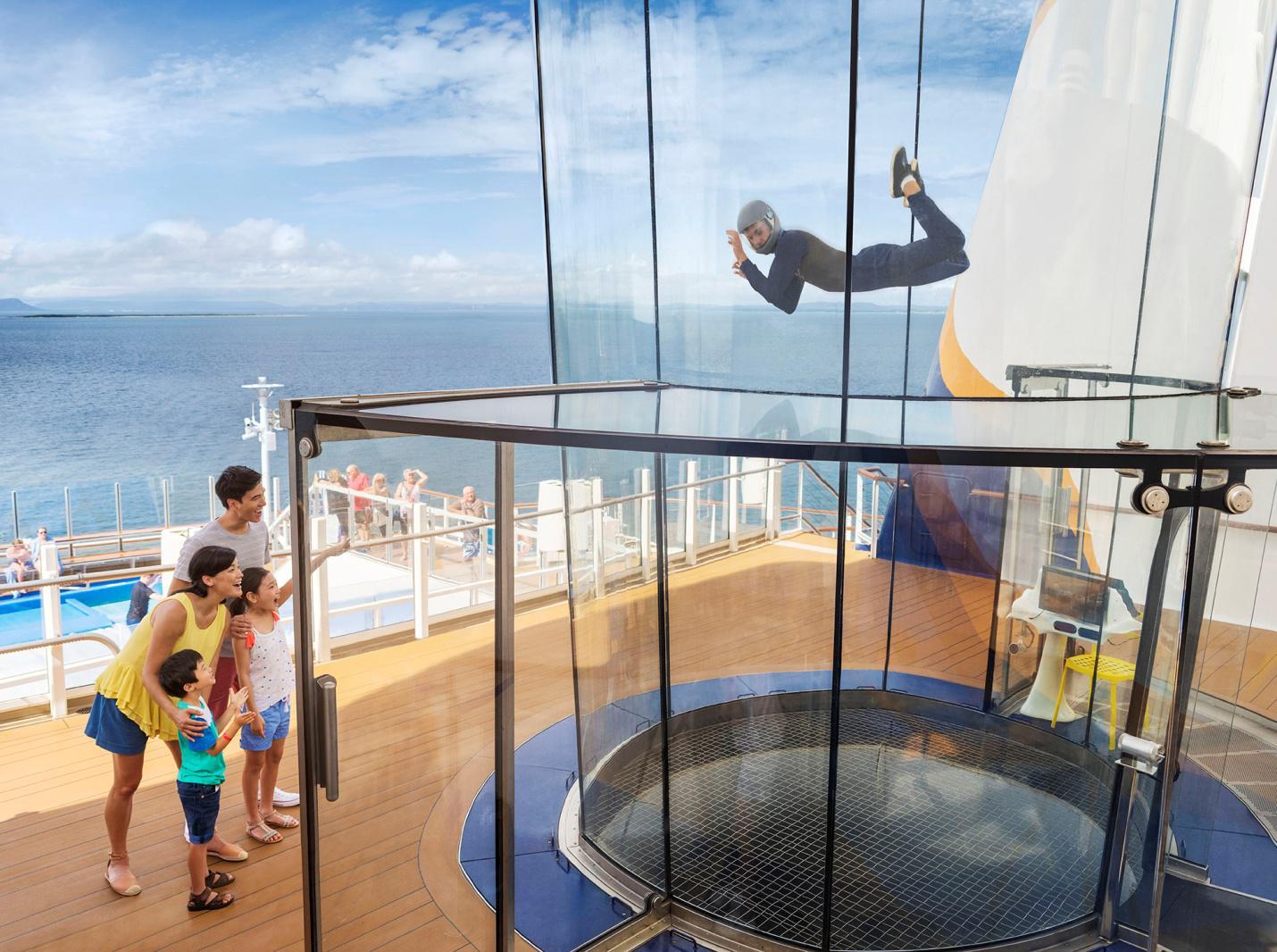 皇家加勒比游轮初体验,打卡海洋量子号精彩时刻!