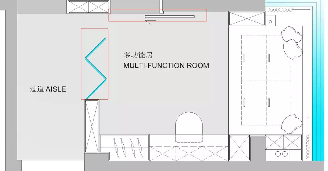 110m²舒适的现代风格,让家人舒适,让自己舒适 现代风格 装修 设计 第12张