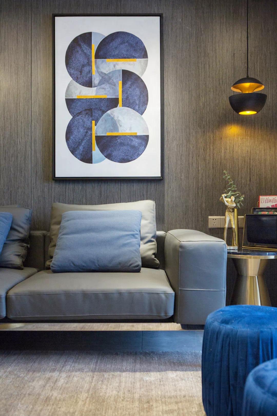 110m²舒适的现代风格,让家人舒适,让自己舒适 现代风格 装修 设计 第7张