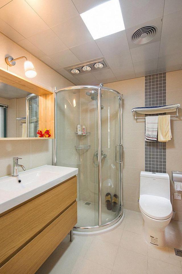 六招设计攻略让小卫生间瞬间变大!
