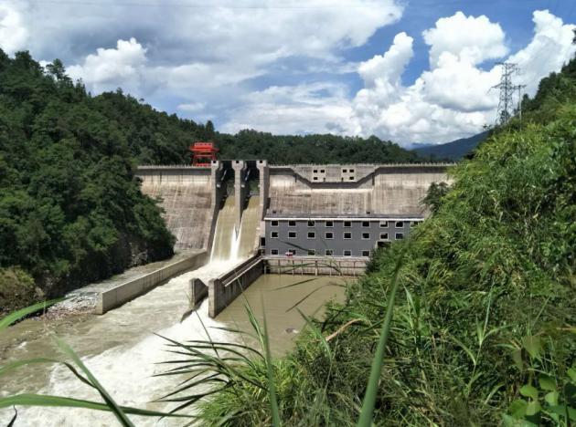 保山市大平田水电站首台机组正式投产发电