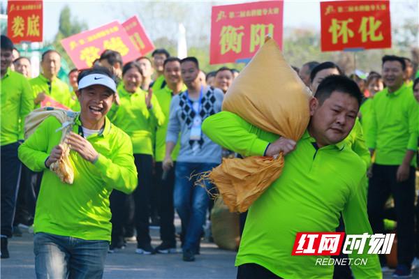 品农味 秀绝活 湖南省第二届农耕健身大赛在衡南县激情开赛