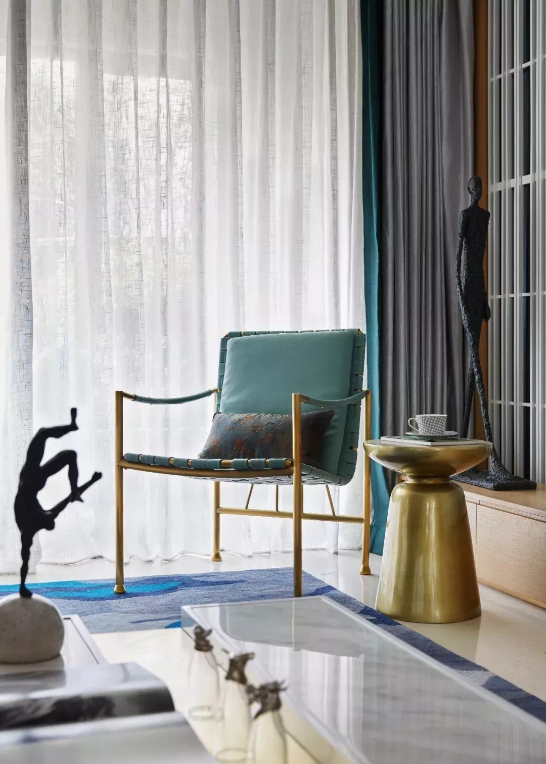 打造高级感的家,低调而奢华,你需要黄铜元素! 高级感 黄铜元素 第29张