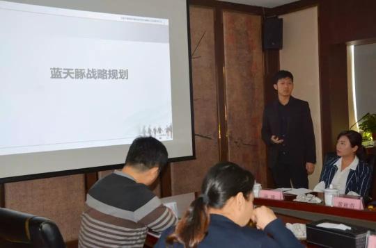 创新谋发展 | 湘阴县汤静副县长一行莅临蓝天豚调研视察