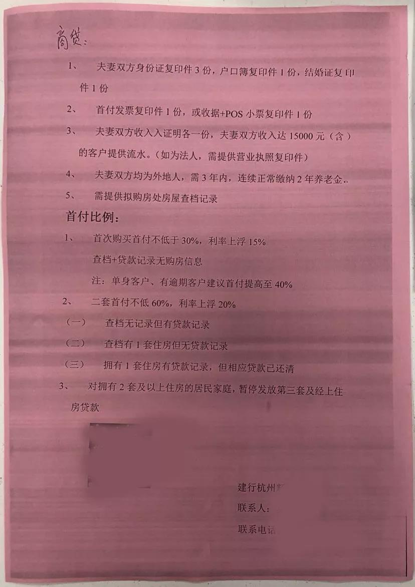 杭州有银行首套房贷利率上浮30% 贷款百万利息要多付33万