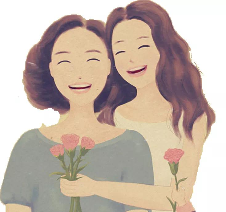 东方紫苑母亲节送康乃馨、免费合影