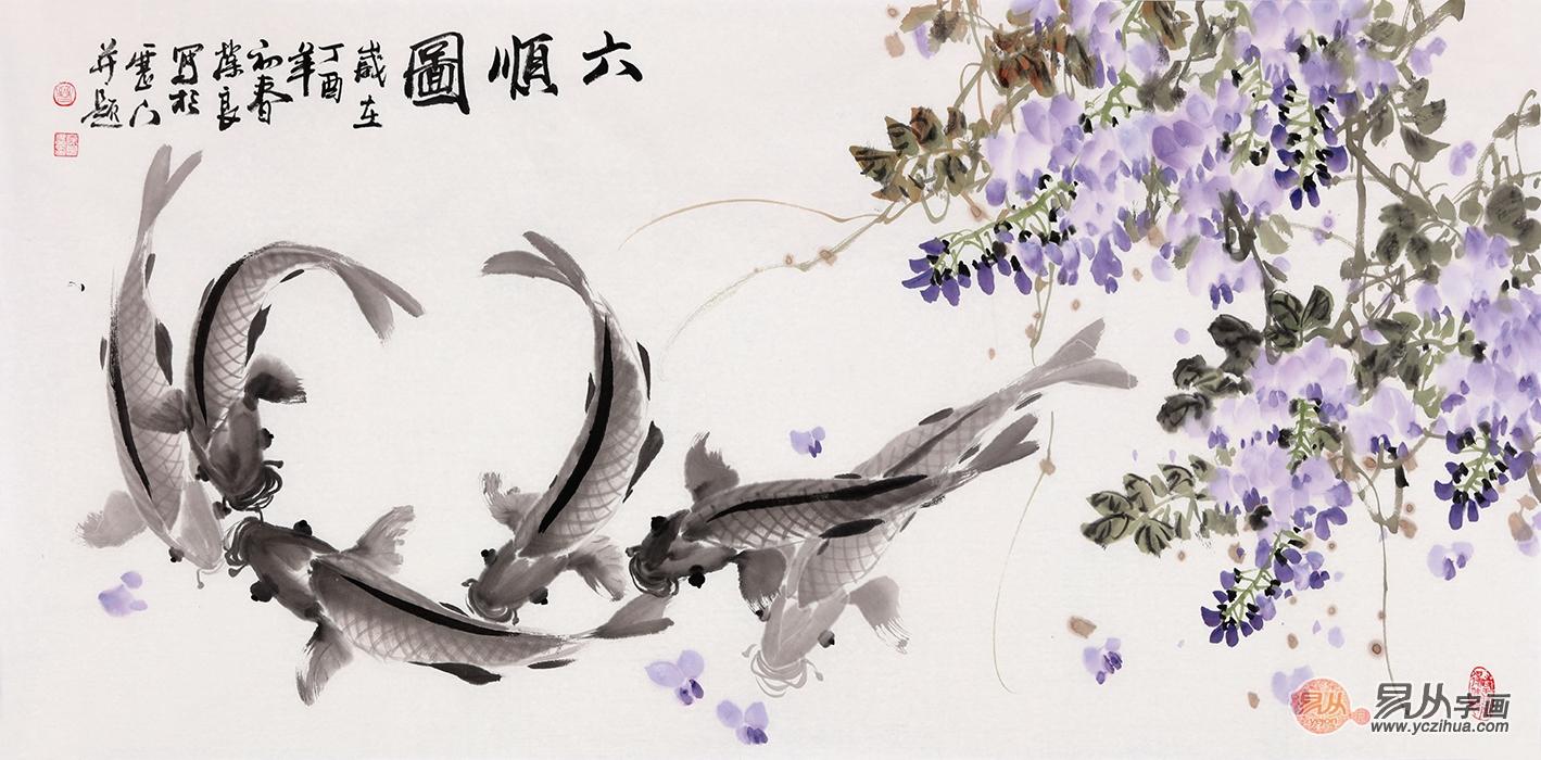 家居装饰挂画就选手绘花鸟画,曼妙多姿,吉祥如意