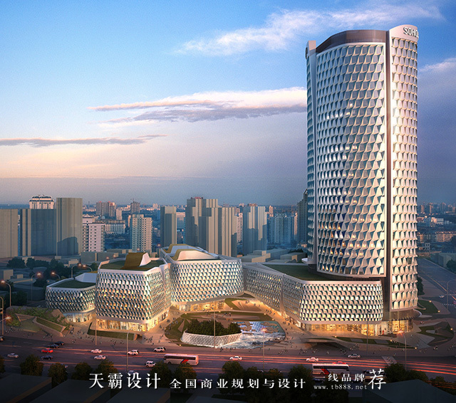 从荒地逆袭成为时尚地标的:上海SOHO海伦广场!